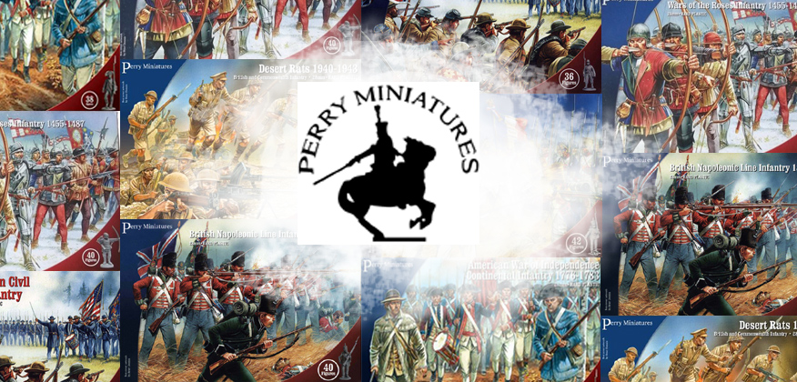 Perry Miniatures Banner