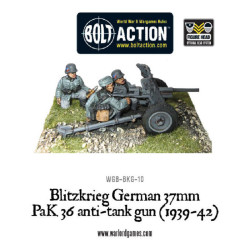 Blitzkrieg German 37mm PaK36 anti-tank gun (1939-42)
