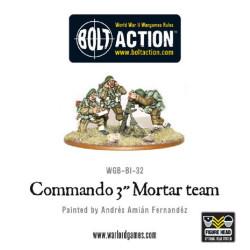 Commando 3″ Mortar Team