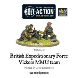 BEF British Vickers MMG Team