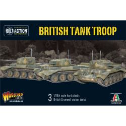 British Tank Troop (3 Cromwells)