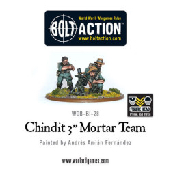 Chindit 3″ Mortar Team