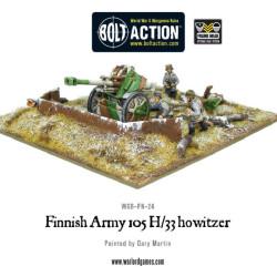 Finnish 105mm Howitzer