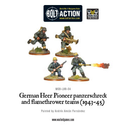 German Heer Flamethrower & Panzerschreck (4)