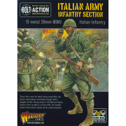 Italian Infantry (10 man squad, head variants)