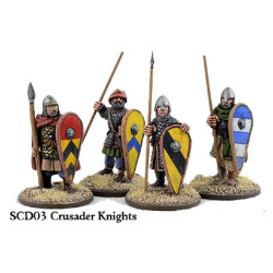 Crusader Knights on Foot (Hearthguards) SCD03