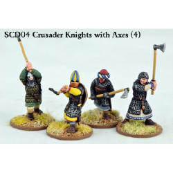 Crusader Knights with Double Handed Axes SCD04
