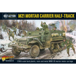 M21 Mortar Carrier Half-Track