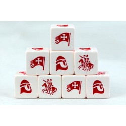 Saga Christian Faction Dice SD06