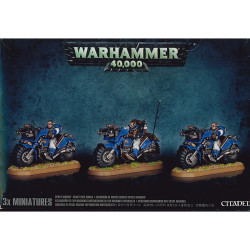 Space Marine Scout Bike Squad
