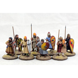 Spanish Warriors on Foot SSP04