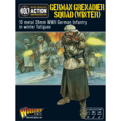 German Grenadiers in Winter Clothing