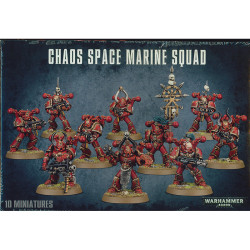 Chaos Space Marine Squad – Last one available