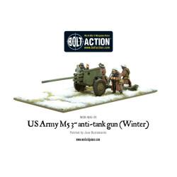US Army 3-inch anti-tank gun M5 (Winter)