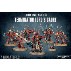 Chaos Space Marine Terminator Lords Cadre – Out of stock GW