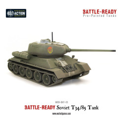 T34/85 Battle Ready Tank – Pre painted