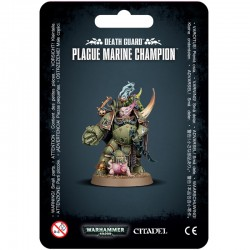 Death Guard Plague Marine Champion