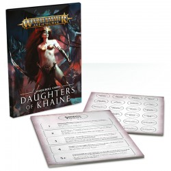 Warscrolls  Daughters Of Khaine – Last One Available