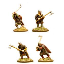 Anglo-Danish Huscarls (axes) (Hearthguard) SA02
