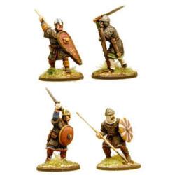 Anglo-Danish Huscarls (spears) (Hearthguard) SA03