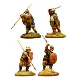 Anglo-Saxon Thegns (Hearthguard) SX02