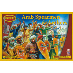 Arab Spearmen & Archers GBP04