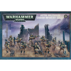 Astra Militarum Cadian Infantry Squad – Ready To Ship