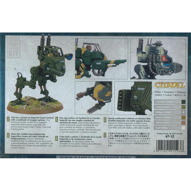 40K Astra Militarum//Garde impériale Sentinel Cadian Armour Upgrade Parts