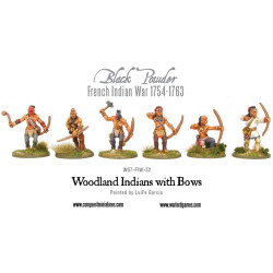 French Indian War – Woodland Indians With Bows (6)