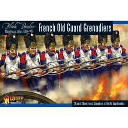 Napoleonic French Grenadiers Of The Guard