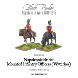 Mounted Napoleonic British Infantry Colonels (Waterloo)