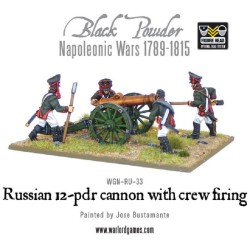 Napoleonic Russian 12 Pdr Cannon (1809-1815)