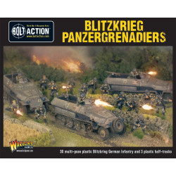 Blitzkrieg Panzergrenadiers (30 + 3 Hanomags)