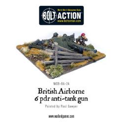 British Airborne 6 Pounder ATG & Crew