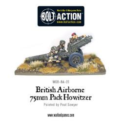 British Airborne 75mm Pack Howitzer & Crew