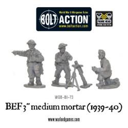 BEF 3 Medium Mortar (1939-40)