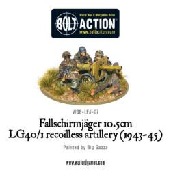 Fallschirmjager 10.5cm LG40/1 Recoilless Artillery