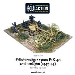 Fallschirmjager 75mm PaK 40 Anti-tank Gun