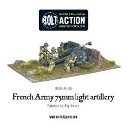 Early War French 75mm Gun