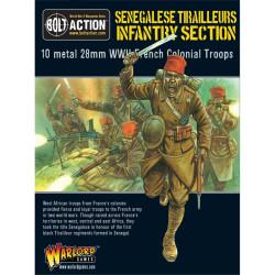 French Army Senegalise Tirailleurs