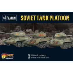 Soviet Tank Platoon (3 T34/85 plus infantry)