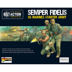 Bolt Action Starter Army – American US Marine