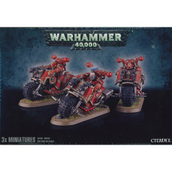 Chaos Space Marine Bikers