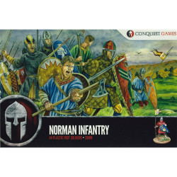 Conquest Games Norman Infantry CGME002