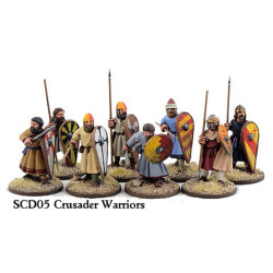Crusader Sergeants on Foot (Warriors) SCD05