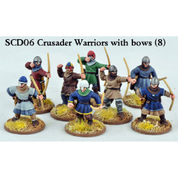 Crusader Sergeants with Bows (Warriors) SCD06