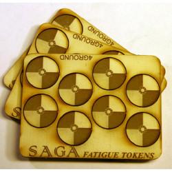 MDF Round Shields 4SAGA02
