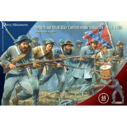 American Civil War Confederate Infantry 1861-65 ACW80