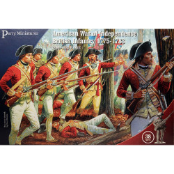 American War of Independence British Infantry 1775-1783 AW200