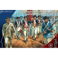 American War of Independence Continental Infantry 1776-1783 AW250